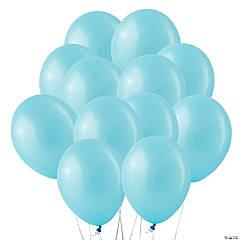 "Light Blue Pearl 11"" Latex Balloons"