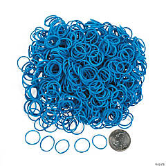 Light Blue Rubber Fun Loops Refill