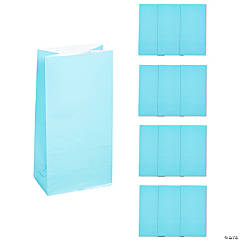 Light Blue Treat Bags