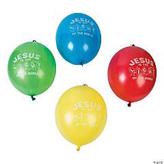 Light of the World Latex Punch Ball Balloon Assortment