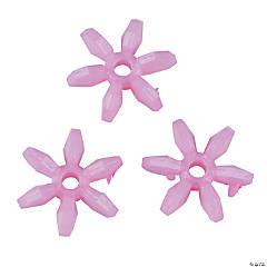Light Pink Daisy-Shaped Beads