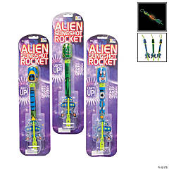 Light-Up Alien Slingshot Rockets
