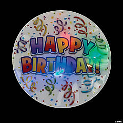 Light-Up Birthday Party Badges