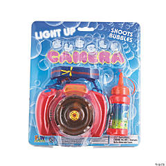 Light-Up Bubble Cameras - 6 Pc.
