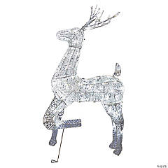 Light-Up Buck Deer Frame Outdoor Decoration