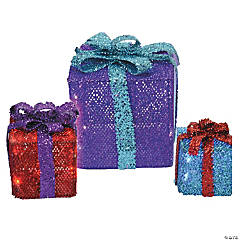 light up christmas gift boxes