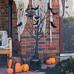 Light-Up Creepy Tree Halloween Decoration