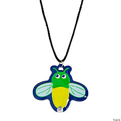 Light-Up Firefly Necklaces