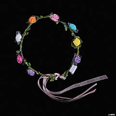 Light-Up Floral Headbands