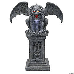Light-Up Gargoyle with Sound Halloween Decoration