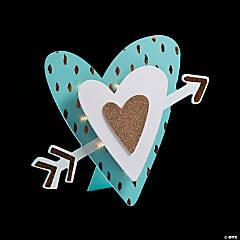 Light-Up Glittering Heart Sign