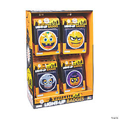 Light-Up Halloween Badges