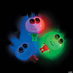 Light-Up Happy Face Puffer YoYos PDQ