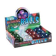 Light-Up Iridescent Bouncy Balls