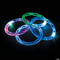 Light-Up LED Flashing Bracelets