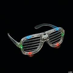 Light-Up LED Shutter Glasses