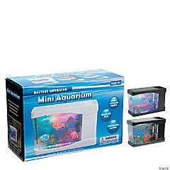 Light-Up Mini Fish Aquarium