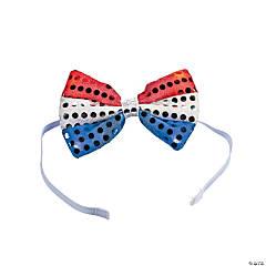 Light-Up Patriotic Bow Tie