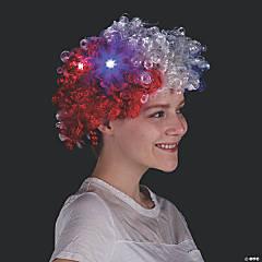 Light-Up Patriotic Wig