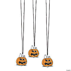 Light-Up Peanuts<sup>®</sup> Jack-O'-Lantern Necklaces