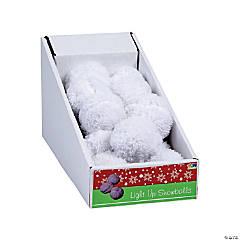 Light-Up Plush Snowballs PDQ