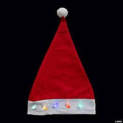 Light-Up Santa Hats