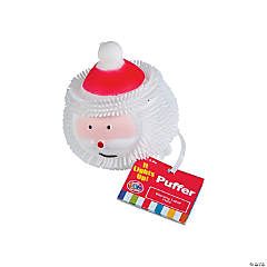 Light-Up Santa Puffers