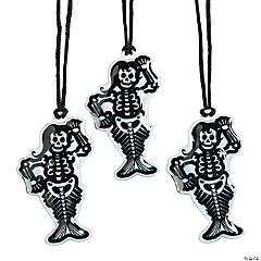 Light-Up Skeleton Mermaid Necklaces