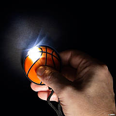 Light-Up Sports Ball Necklaces