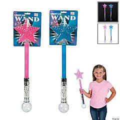 Light-Up Star Wands
