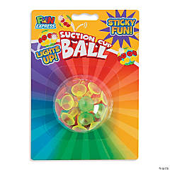 Light-Up Suction Cup Balls