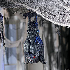 Light-Up Swinging Bat Halloween Decoration