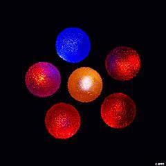 Light-Up Textured Bouncy Balls