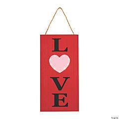 Light-Up Valentine Love Sign