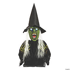 Light-Up Witch Groundbreaker Halloween Decoration