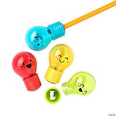 Lightbulb Pencil Sharpeners