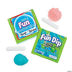 Lik-m-aid® Fun Dip™ Candy with Valentine's Day Stickers
