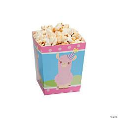 Lil' Llama Popcorn Boxes