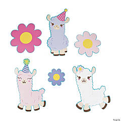 Lil' Llama Wall Cutouts