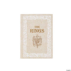 Lilian Rose™ White & Ivory Fairy Tale Storybook Ring Holder