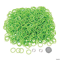 Lime Green Rubber Fun Loops Refill