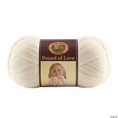 Lion Brand Pound Of Love Baby Yarn-Antique White