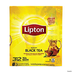 LIPTON 100% Natural Tea Bags, 312 Count
