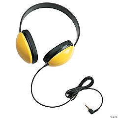 Listening First Stereo Headphones - Yellow