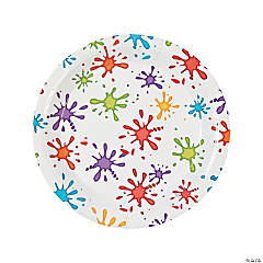 Little Artist Paper Dinner Plates - 8 Ct.