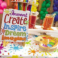 Little Artist Party Supplies