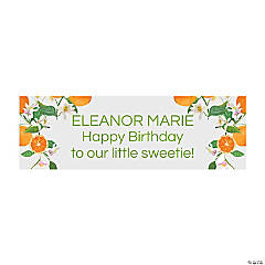Little Clementine Custom Banner - Small
