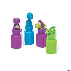 Little Dino Bubble Bottles - 12 Pc.