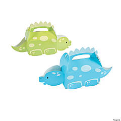 Little Dino Favor Boxes - 12 Pc.