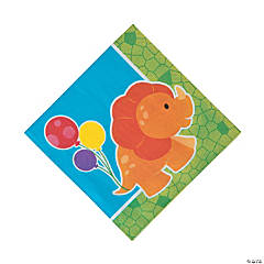 Little Dino Party Luncheon Napkins